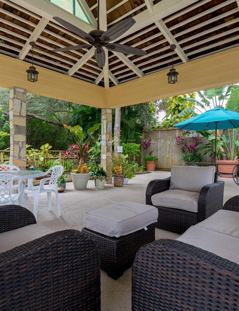 poolside cabana at florida rv resort