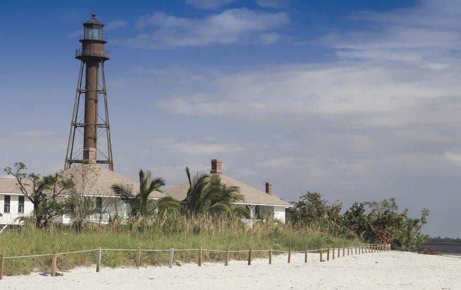 Sanibel Leuchtturm, Sanibel Island, Florida, USA, Nordamerika|Sanibel Lighthouse, Sanibel Island, Florida, USA, North AmericaSanibel Leuchtturm, Sanibel Island, Florida, USA, Nordamerika|Sanibel Lighthouse, Sanibel Island, Florida, USA, North America